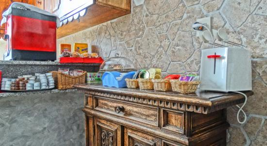 Belfiore B&B: Kitchen