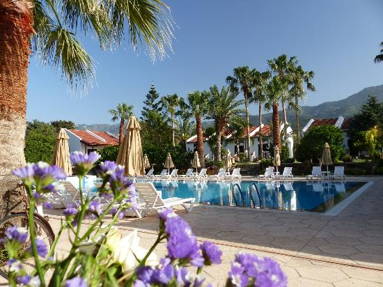 Almond Holiday Village: Authentic and Romantic Pool Area