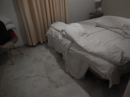 La Casa del Pozo Santo: chambre