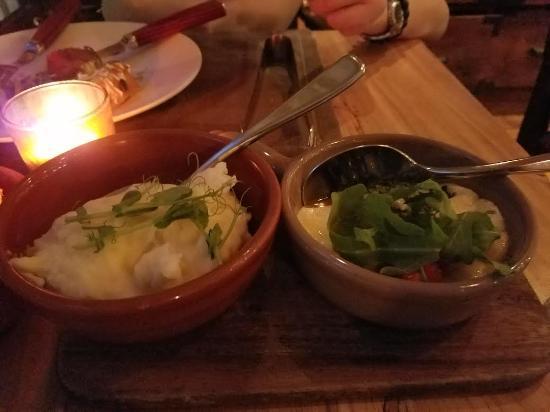 Braza Churrascaria Brazilian Steakhouse: Mesh Potato