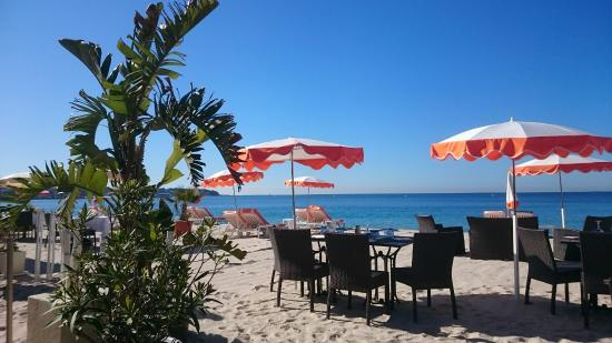 plage juanita restaurant picture of plage juanita restaurant juan les pins tripadvisor. Black Bedroom Furniture Sets. Home Design Ideas