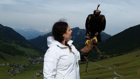 Malbun, Liechtenstein: She's a lot heavier than she looks