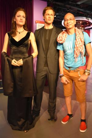 with the famous showbiz couple picture of madame tussauds hong rh tripadvisor com