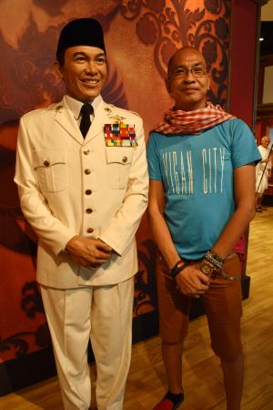 with president soekarno picture of madame tussauds hong kong hong rh tripadvisor co za