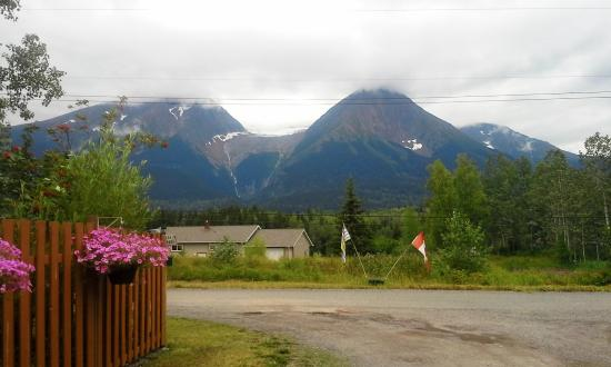 Smithers, Canadá: view from Glacier View RV park