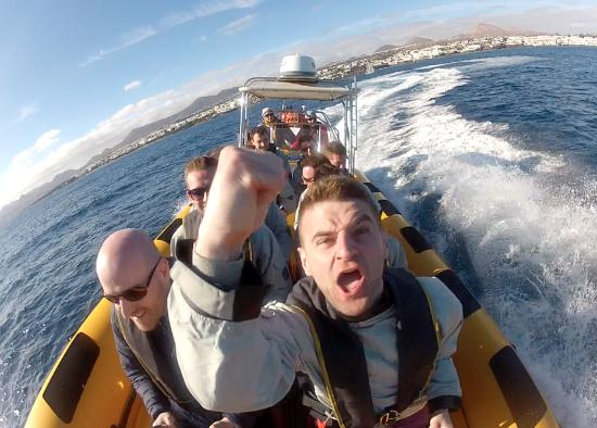 Waverider Lanzarote- Day Tours : Waverider Stag Party RIB Experience
