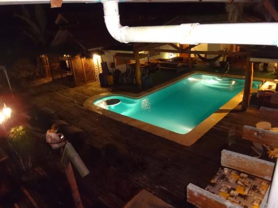 Bugabutik: Vue du balcon
