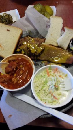 BBQ in Georgia, Texas style