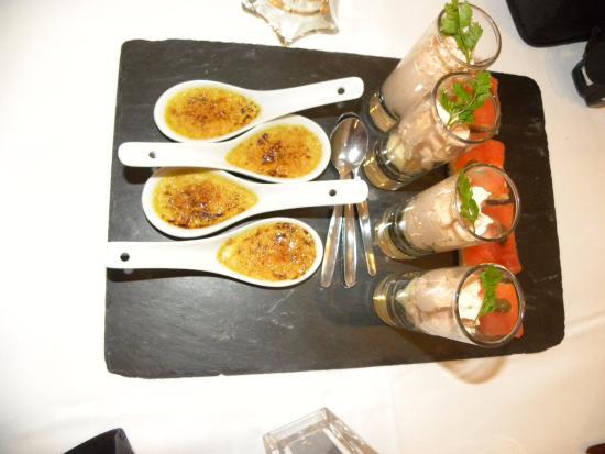 Wimmenau, Prancis: Petites douceurs pour bien commencer la repas...