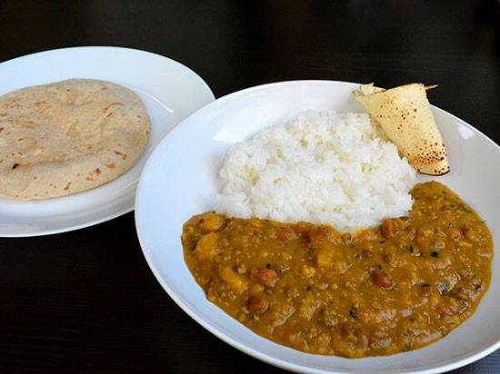 Indian home food only @ doon shokudo indoyama