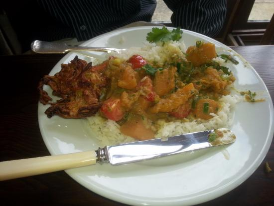 Whitley, UK: Squash and coconut curry