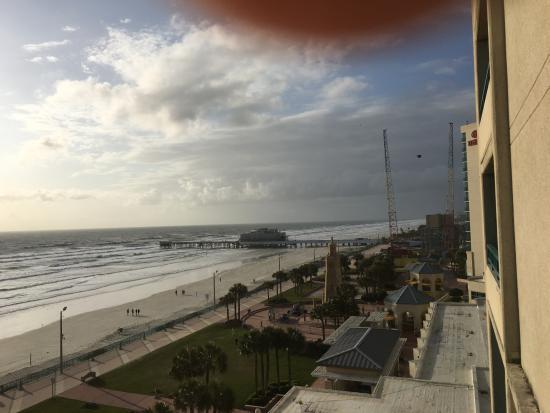 picture looking out balcony hilton daytona beach oceanfront resort rh tripadvisor com au