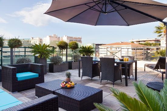 Clarion Suites Cannes Croisette: Terrasse Penthouse
