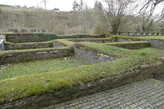 Gerolstein, Deutschland: römische Ruinen