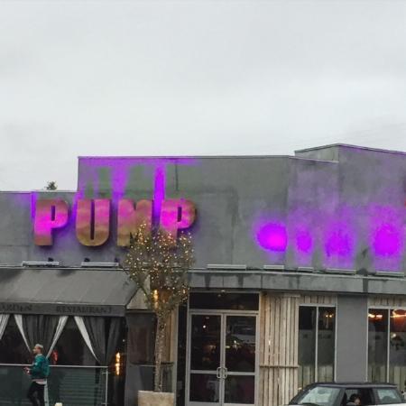 Glitterati Tours: Lisa Vanderpump's PUMP lounge, restaurant and nightclub in West Hollywood.