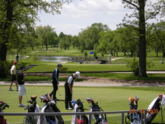 DuPage County, IL: Oak Meadows Golf Course  Addison