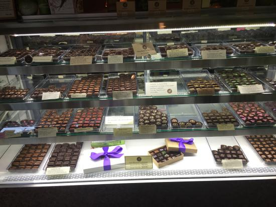 Lake Placid Chocolatier: Mouth watering