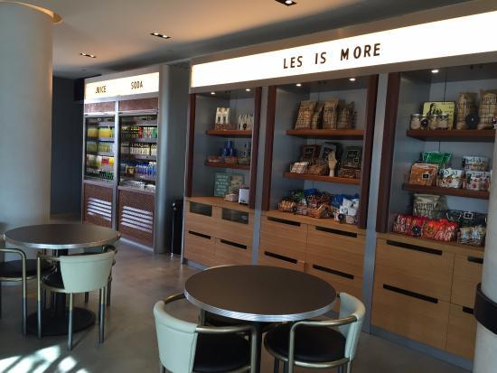 14th floor cafe with snacks picture of hotel indigo lower east rh tripadvisor com