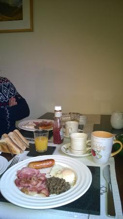 Serendipity Bed and Breakfast: petit-déjeuner !!!