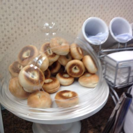 Stevenson Ranch, Californien: Mini Bagels