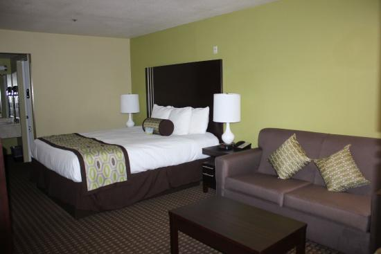 Days Inn San Jose Milpitas: Deluxe King Room