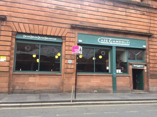 Cafe Gandolfi  Albion Street