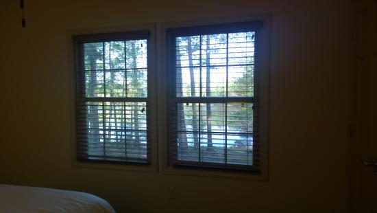 F. D. Roosevelt State Park Cottages: View from Master Suite