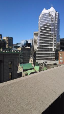 Le Square Phillips Hotel & Suites: View from rooftop terrace