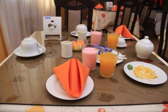 Hotel Mirasol: Cafeteria