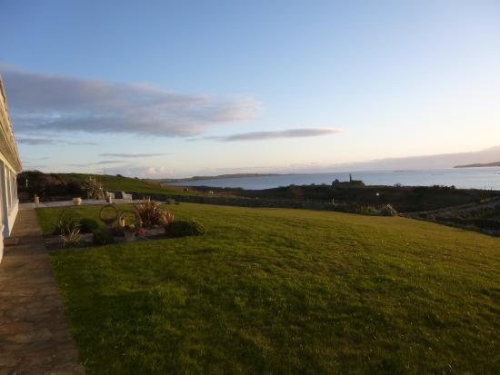 Dunkineely, Irlanda: Dining room view