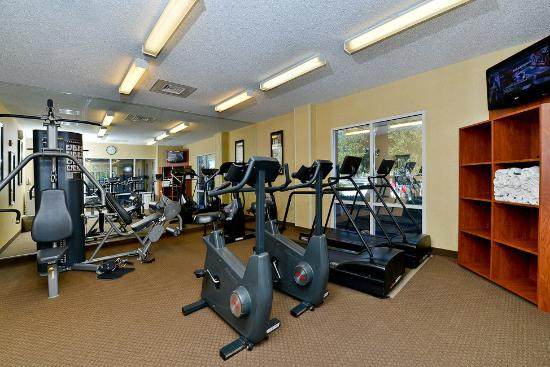 hotel gym picture of comfort inn suites convention center rh tripadvisor com