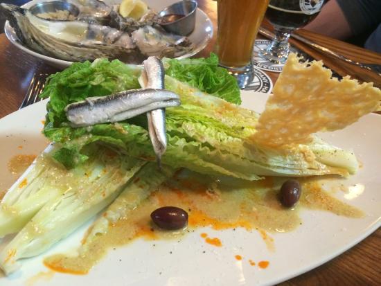 Hart, MI: Deconstructed Caesar salad