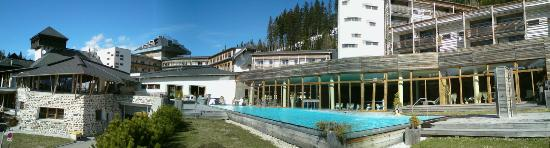 Rennweg, Østerrike: Assen-Panorama mit Aussen-Pool