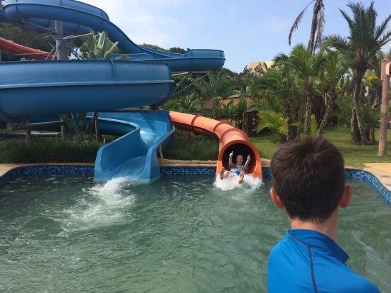 Wild Waves Water Park : Fantastic fun on some original rides