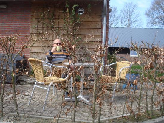 Overijssel Province, เนเธอร์แลนด์: Bij elke kamer een eigen terrras