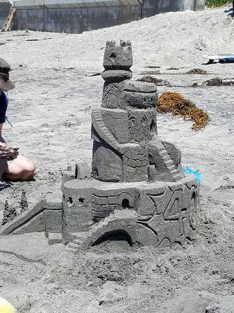San Diego Sand Castles: Birthday Sand Castle