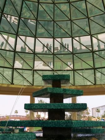 الخور, قطر: fountain area