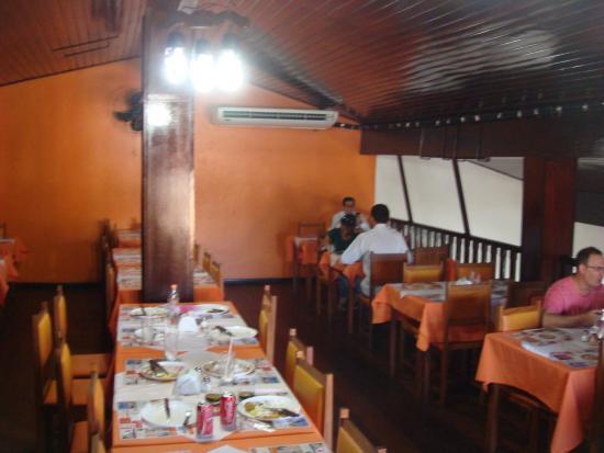 Jacarei, SP: Rancho Mineiro- upper floor