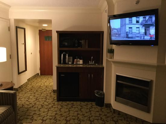 room 1604 king suite with whirlpool picture of hilton garden inn rh tripadvisor com
