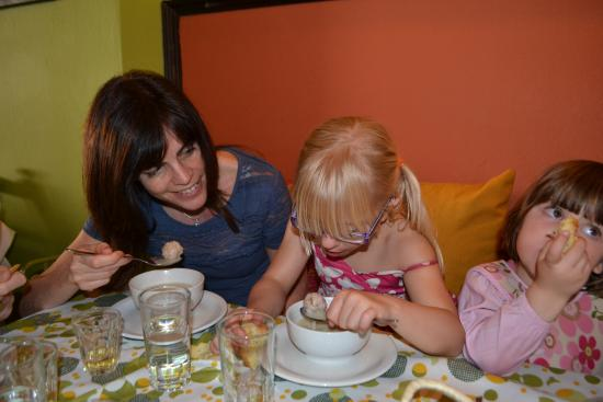 Cooking lessons at Vegera : tasting!!