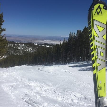 Red Lodge Mountain: I could get used to this view