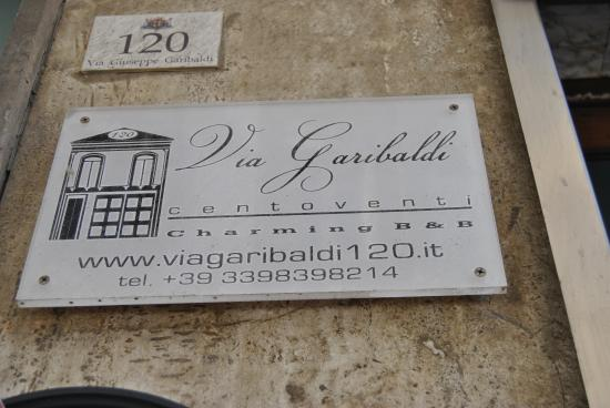 Via Garibaldi 120 Charming BB Foto