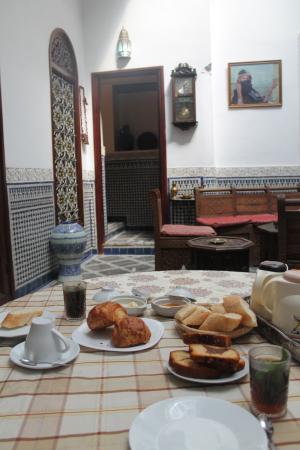 Dar Lalla Mina : Breakfast