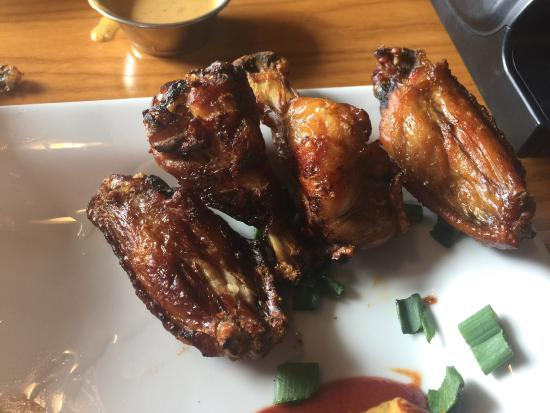 Staunton, VA: Smoked wings usually pretty good here but these were a little crispy on Friday 15th