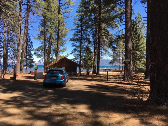Camp Richardson Resort: View from just outside of the cabin