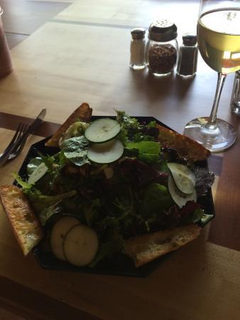 Redway, แคลิฟอร์เนีย: Garden salad