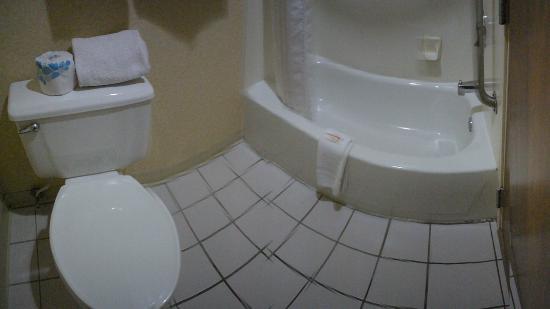 Baymont Inn & Suites Salina: Bathroom
