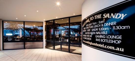 Sandringham, Avustralya: Hotel Entrance