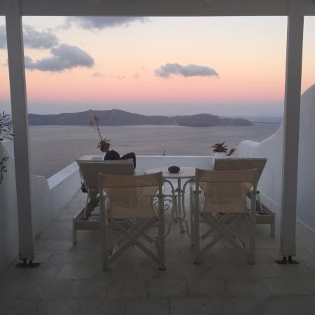 Dana Villas: Sunrise from our patio