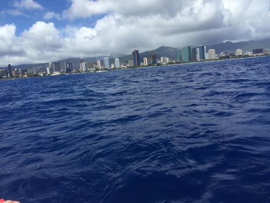 Honolulu Screamer: view from Boat